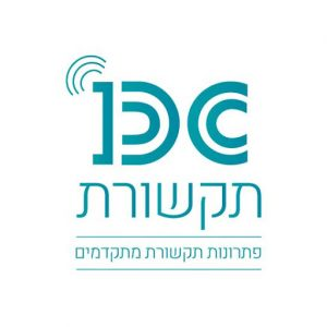 DC תקשורת לוגו